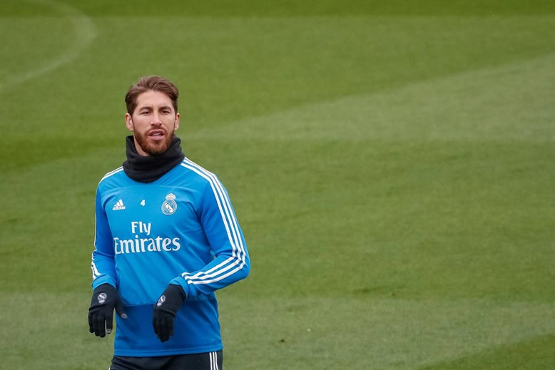 24.º - Sergio Ramos, Real Madrid, 77%