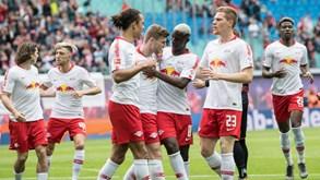 Mainz-RB Leipzig: Abre mais uma ronda na Alemanha