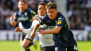 Leeds United-Derby County: Visitados em boa posição