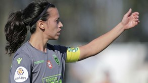 Sporting anuncia cinco dispensas na equipa de futebol feminino