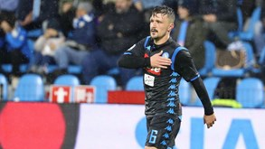 Nápoles-Inter: Luta em lugares de Champions