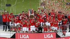 Aí está a segunda melhor década da história do Benfica