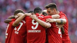 RB Leipzig-Bayern Munique: Joga-se a Taça da Alemanha