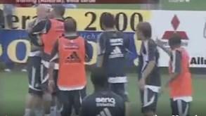 O dia em que Gravesen queria matar Robinho no treino do Real Madrid