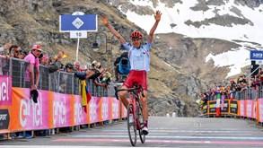 Zakarin vence primeira etapa alpina e Polanc mantém a liderança