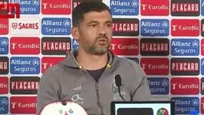 Sérgio Conceição e as declarações de Bruno Lage: «Quero lá saber...»
