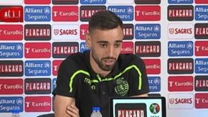 Bruno Fernandes: «As ambições do Sporting são as minhas também»