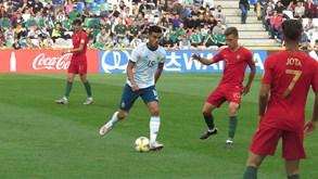 Portugal derrotado pela Argentina (2-0)