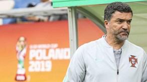 Titulares com a Argentina ausentes do treino de Portugal