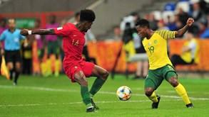 Mundial de sub-20: Portugal empata com a África do Sul e é eliminado