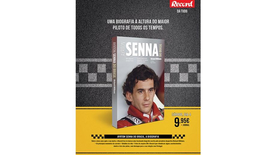 Record Lanca Biografia De Senna Iniciativas Jornal Record