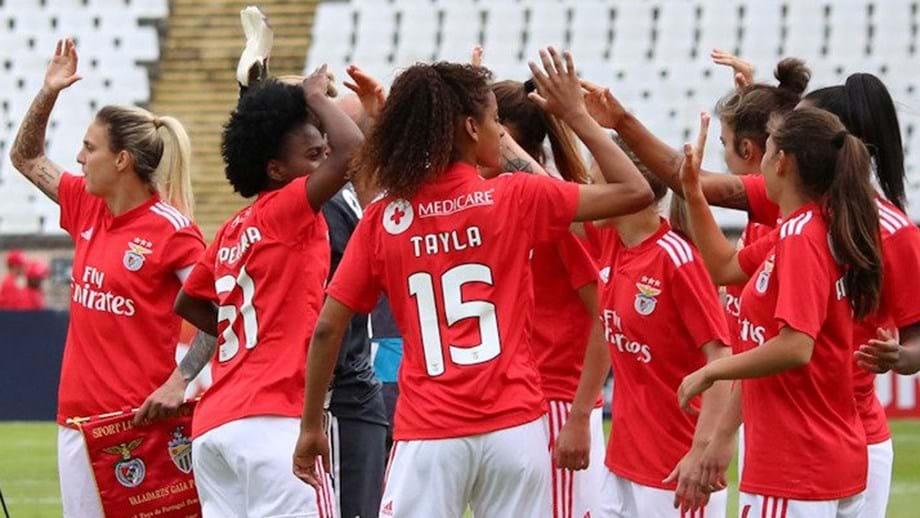 Benfica Vence Taça De Portugal De Futebol Feminino