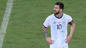 Argentina-Paraguai: Messi procura os primeiros pontos