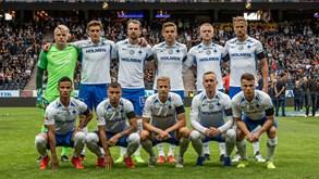 IFK Norrköping-IK Sirius FK: Rola a bola a Norte