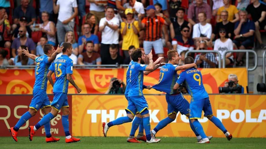 Ucrânia bate Coreia do Sul e conquista Mundial sub-20 pela primeira vez