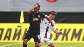 CSKA Moscovo-FK Rostov: A preparar os jogos a 'sério'