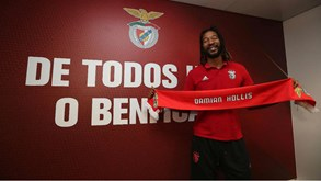 Damian Hollis está de regresso ao basquetebol do Benfica