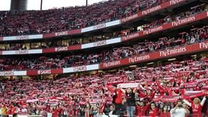Benfica encerrou venda de bilhetes de época com recorde de 45 mil lugares