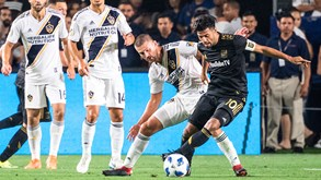 LA Galaxy-LA FC: Dérbi pela madrugada fora