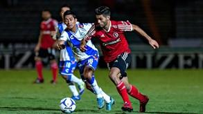 Puebla-Club Tijuana: Começa o campeonato mexicano