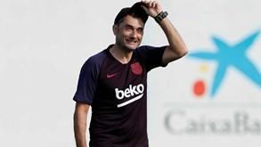 Nove médios para três posições: o 'dilema' de Valverde no Barcelona