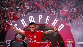 Foi com este vídeo que o Benfica se despediu de Salvio