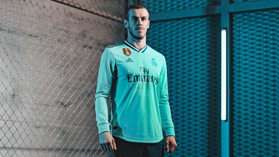 Aí está o terceiro equipamento do Real Madrid para a época