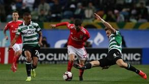 Benfica-Sporting: Dérbi no Algarve para começar a época