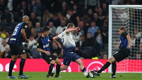 Tottenham-Inter Milão: Spurs fecham pré-temporada