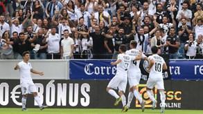 FK Ventspils-V. Guimarães: Mais um passo