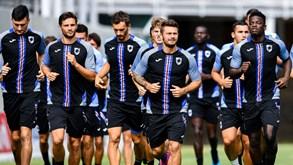 Crotone-Sampdoria: Taça de Itália já mexe