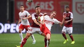 Spartak Moscovo-Sp. Braga: Minhotos procuram confirmar apuramento