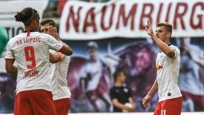 Borussia Mönchengladbach-RB Leipzig: Abre-se a terceira jornada da Bundesliga