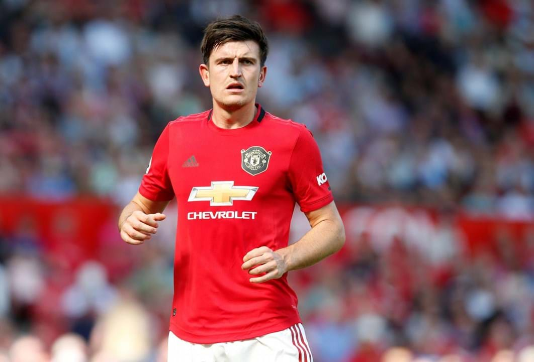 4.º Harry Maguire, Leicester-Manchester United, 87 milhões