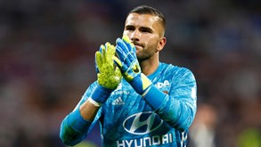 Anthony Lopes focado no Lyon