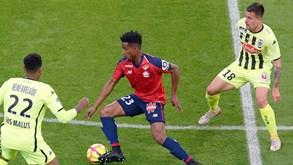 Lille-Angers: Duelo com portugueses em campo