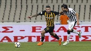 AEK Atenas-PAOK Salónica: Duelo com muitos portugueses