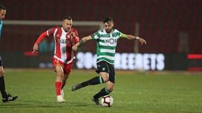 Desp. Aves-Sporting: Leão tenta dar sapatada na crise