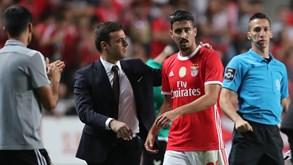 Baixa no Benfica para jogo com o Zenit