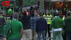 Chegada do Sporting ao estádio do Aves marcada por insultos a Frederico Varandas