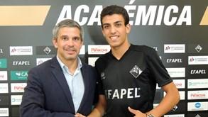 Afonso Peixoto: «Objetivo é chegar à equipa principal»