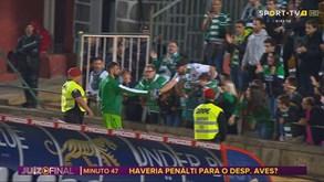 O gesto de Bruno Fernandes que deixou o pequeno Francisco em euforia