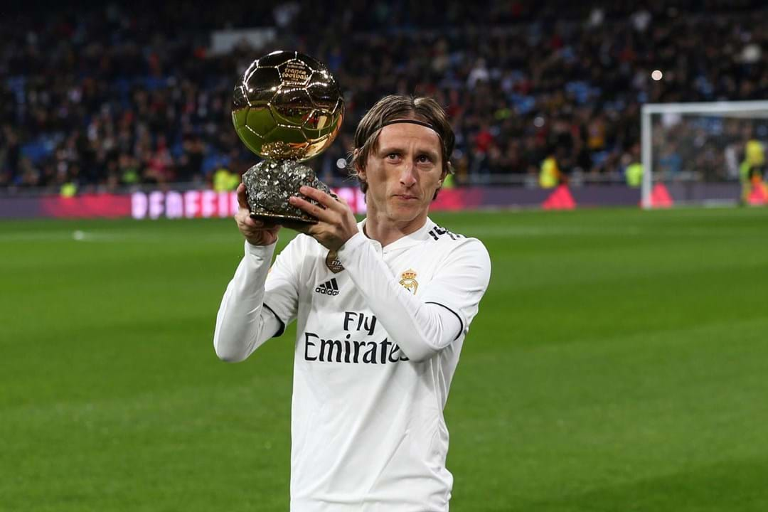Luka Modric, 34 anos, Real Madrid.