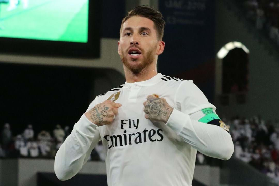 Sergio Ramos, 33 anos, Real Madrid.