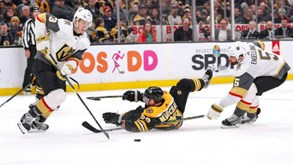 Vegas Knights-Boston Bruins: Duelo interessante em perspetiva