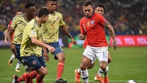 Colômbia-Chile: Queiroz procura vingar Copa América