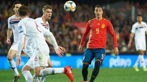 Noruega-Espanha: Roja a um passo do apuramento
