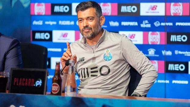 Conceição e os emails 'espiados' por Rui Pinto: «Não estava lá a estratégia para o Coimbrões...»