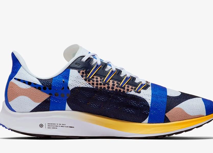 Nike revoluciona Pegasus 36 à boleia de Cody Hudson Record