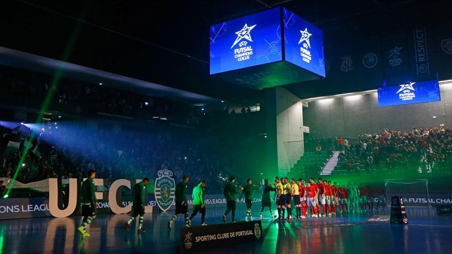 Sporting candidata-se a organizar Ronda de Elite da Liga dos Campeões de futsal